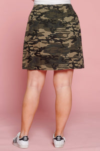 Our Dangerous in Camo Skirt back