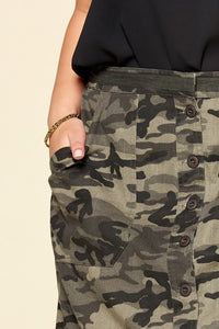 Our Dangerous in Camo Skirt side