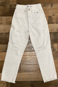Our For the Love of White Jeans are the perfect white denim to add to your collection.