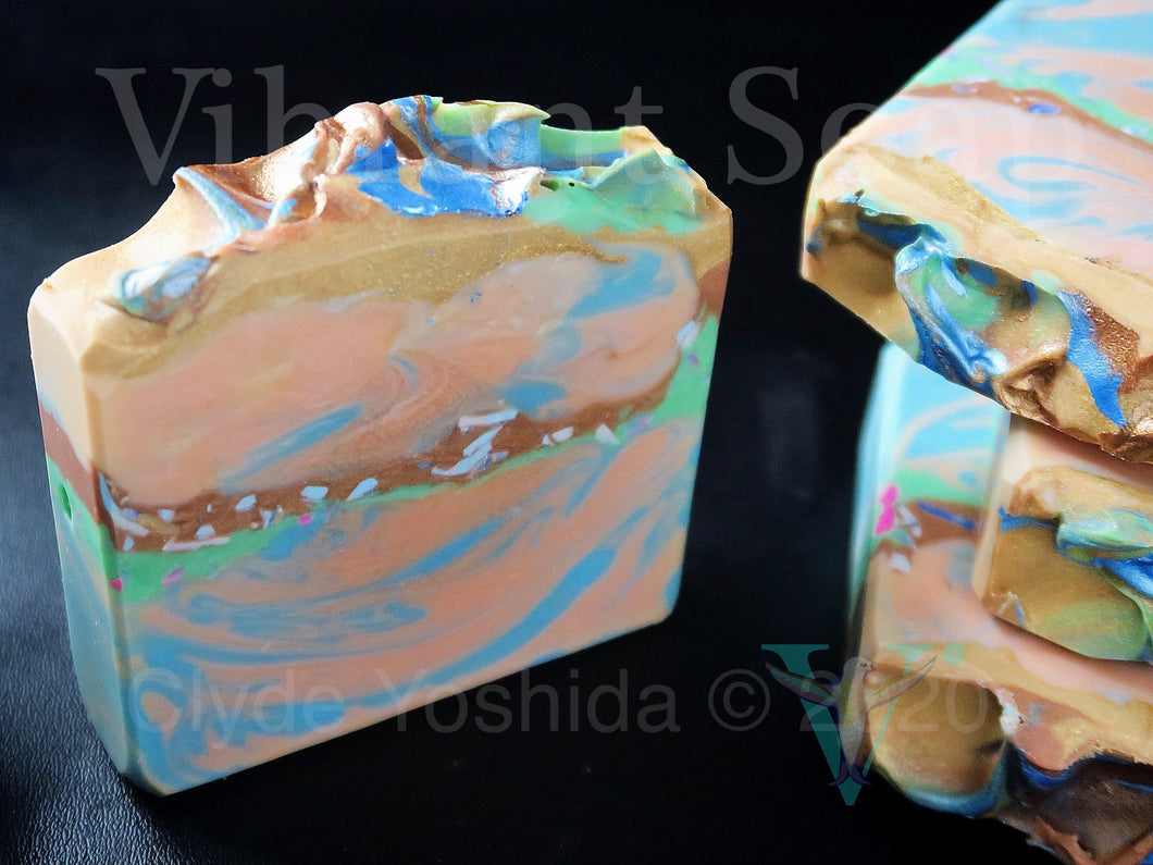 Amber Rivers cold process soap (palm free)