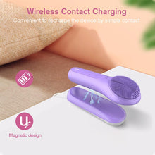 Load image into Gallery viewer, Rechargeable Portable Intensive Cleansing Facial Brush with Heat