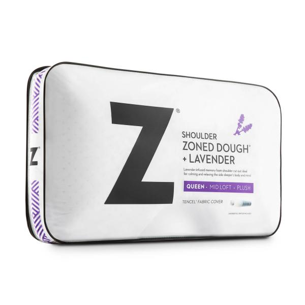 Pillow - Z Shoulder Zoned Dough® + Lavender - Spine Align