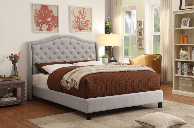 "Louvre 60"" Queen Platform Bed"