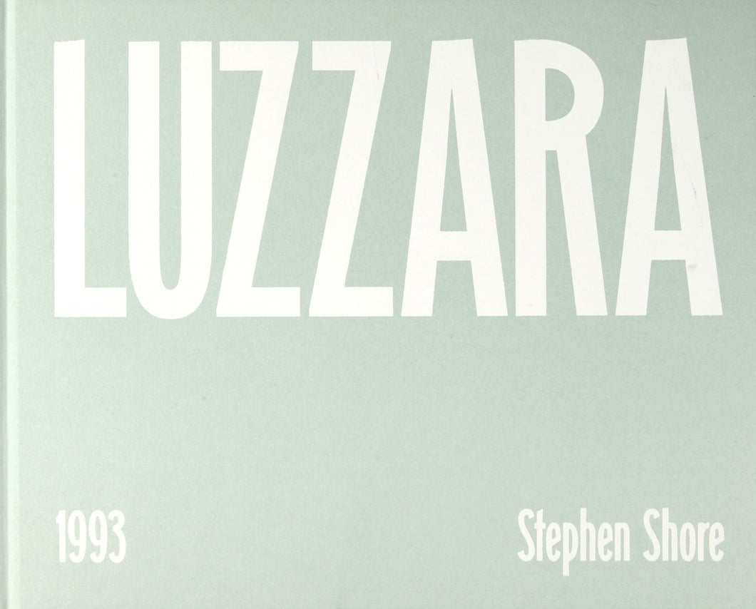 Stephen Shore - Luzzara