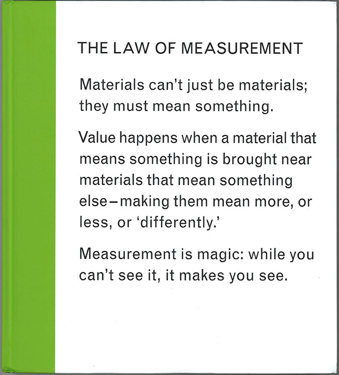 Isabelle Pauwells - The Law of Measurement