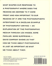 Load image into Gallery viewer, David Campany - On Photographs