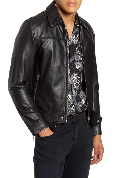 Sharpe Leather Jacket