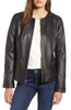 Smooth Lambskin Leather Jacket