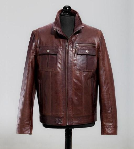 All Saint's Brown Leather jacket for men