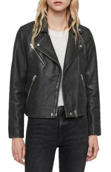 Arden leather Biker Jacket
