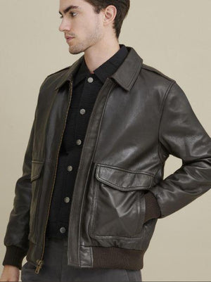 Chris Leather Jacket