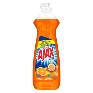 Ajax Dish Soap (P/Trastes) Triple Action Orange 9/28