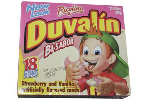 UNIT Duvalin Fresa Vainilla (Vanilla/Strawberry) 1/18pz (24 cs)