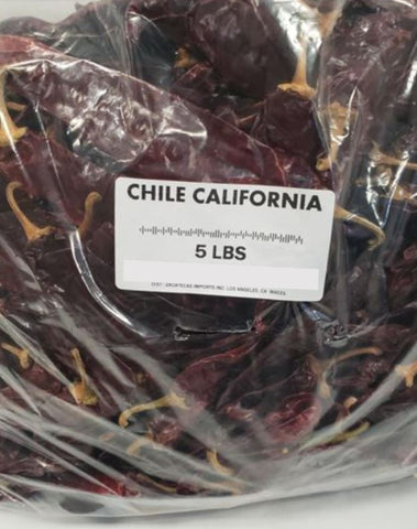 Bulk Chile California (5 lb bag)