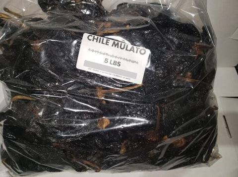 Bulk Chile Mulato (5 lb bag)