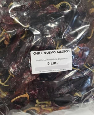 Bulk Chile New Mexico (5 lb bag)