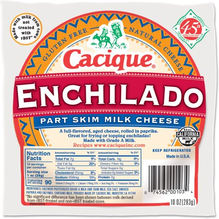 Cacique Queso Enchilado 12/10oz