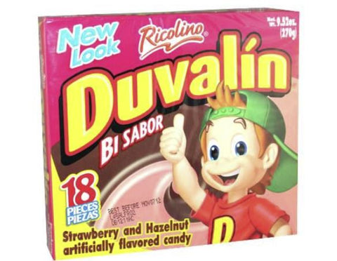 UNIT Duvalin Avellana Fresa (Hazelnut/Strawberry) 1/18pz (24 cs)