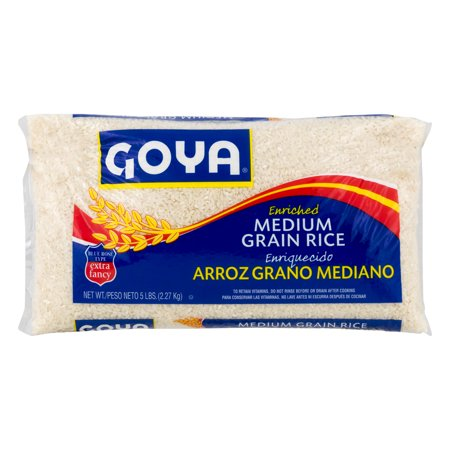 2603-Goya Blue Rose Medium Grain Rice 12/5lb