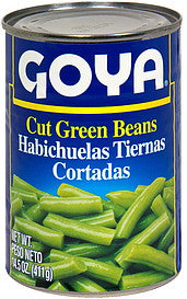 2539-Goya Cut Green Beans/Ejotes  24/15oz