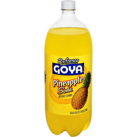 Goya Pineapple soda 8/2 liters