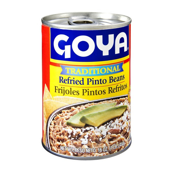 2901- Goya Refried Pinto Traditional 12/16