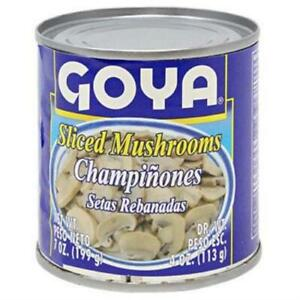 2579- Goya Sliced Mushrooms 24/4oz