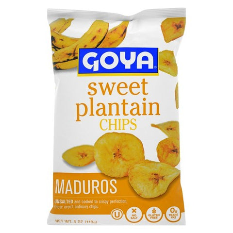4915- Goya Sweet Plantain Chips 12/4oz