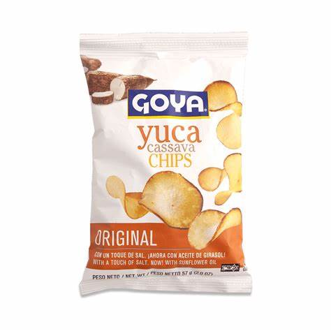 4941- Goya Yuca Chips 12/4oz