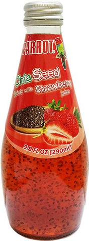 Parrot Strawberry Chia Drink 24/10oz
