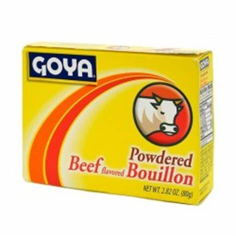 Beef Powered flavored Bouillon