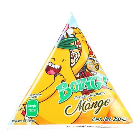 Boing Friends Triangle Mango/Guava/Apple  3/6pk, 200ml each