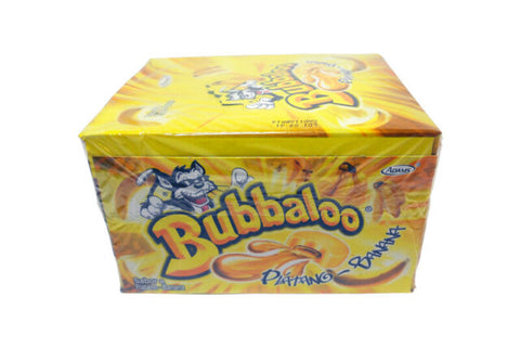 Bubbaloo Gum Banana  1/50 ct