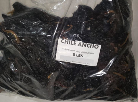 Bulk Chile Ancho (5 lb bag)