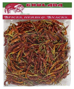 Chulada Chile Arbol 12/6oz ( large bag)