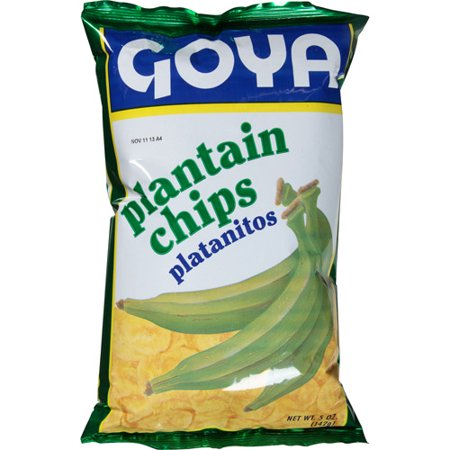 4925- Goya Plantain Chips Salt 12/5oz