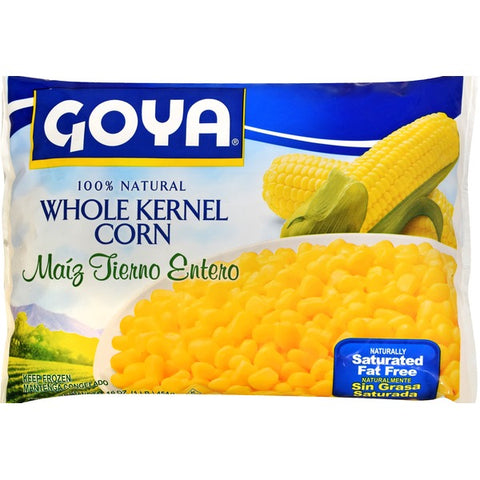 9169- (F) Goya Whole Kernel Corn (Maiz Tierno Entero) 12/32