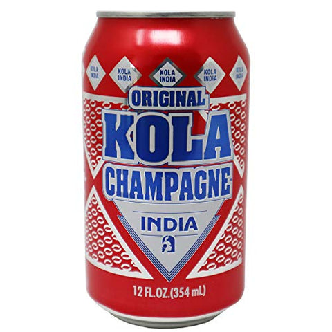5192-India-Kola Champagne 24/12 onz  ---Can--  Puerto Rico Soda