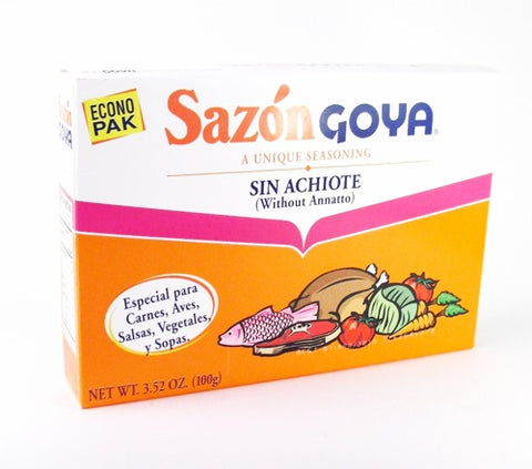 Sazón Sin Achiote (without Annatto)