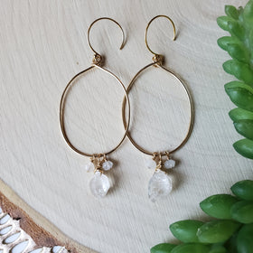 Winter Snow Earrings
