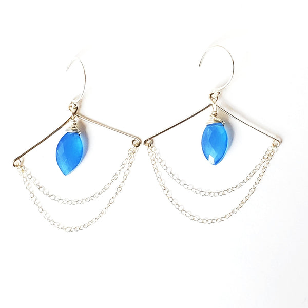 Capri Pagoda Earrings