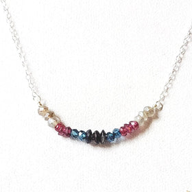 Ombre Tiny Bar Necklace
