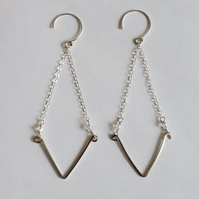 V Swing Earrings