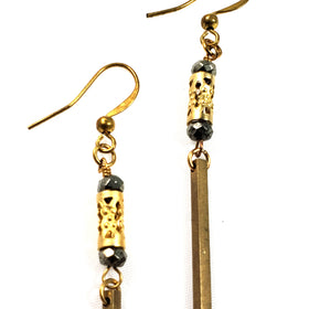 Société Urbane Safari Moon Small Drop Earrings
