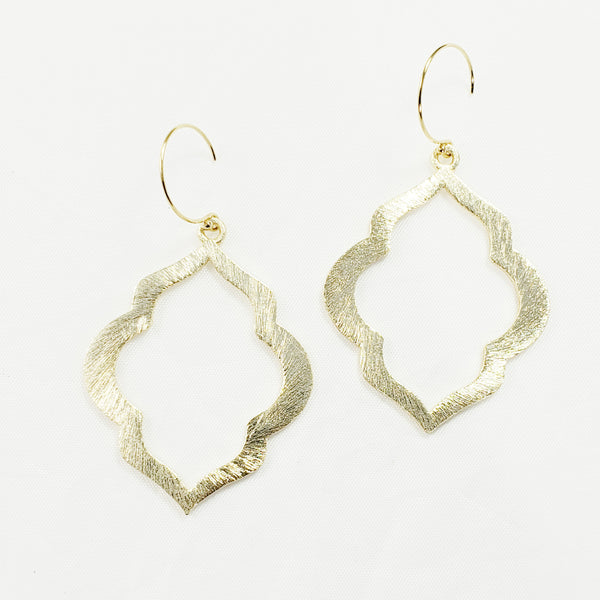 Brushed Jasmine Earrings