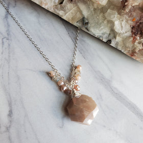 Sweets Moonstone Necklace