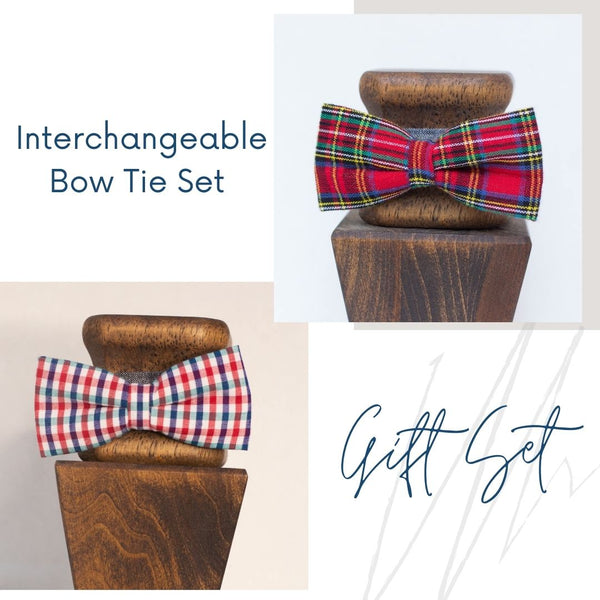 Interchangeable Bow Tie Starter Set