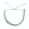 Macua String Bracelet- Wildflower Colors in Gold