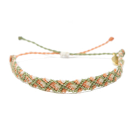 Friendship Bracelet - Bright Neutral Colors