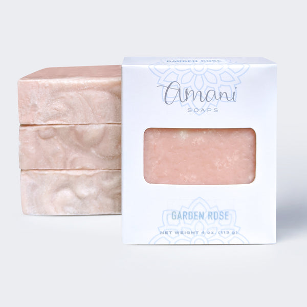 Vegetarian Soap--Limited Edition Garden Rose